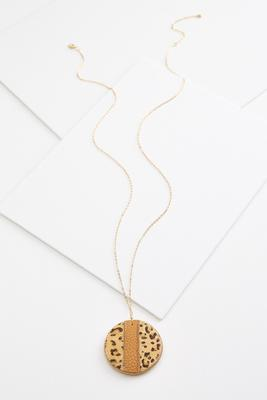 animal pendant necklace