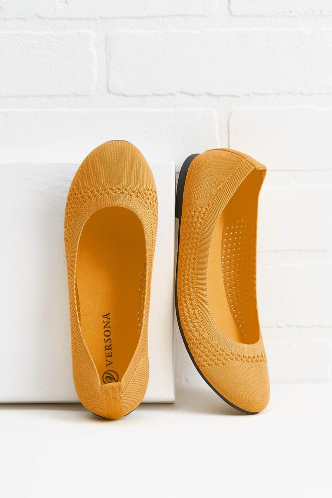 Think About Knit Ballet Flats