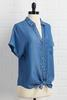 Chambray Campaign Top