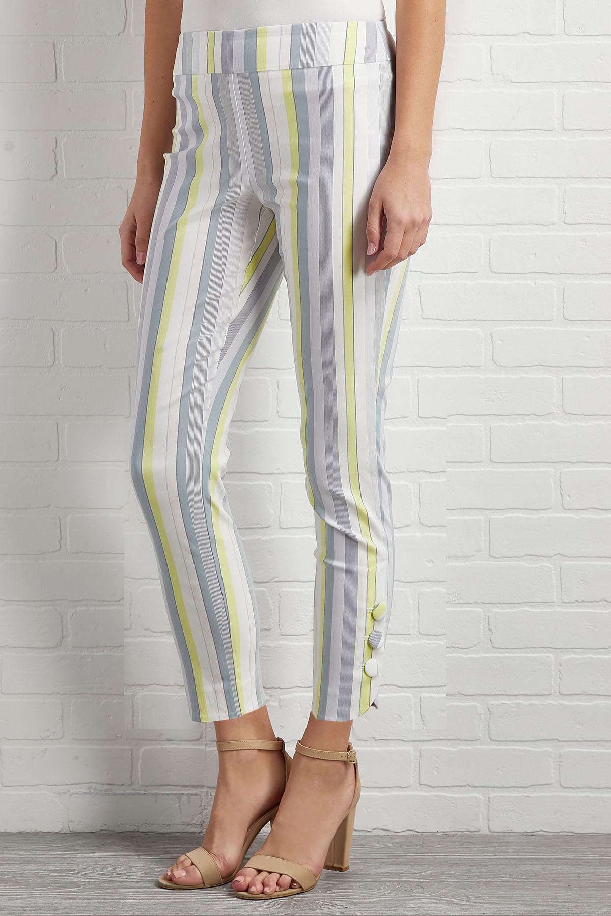 Hint Of Lemon Pants