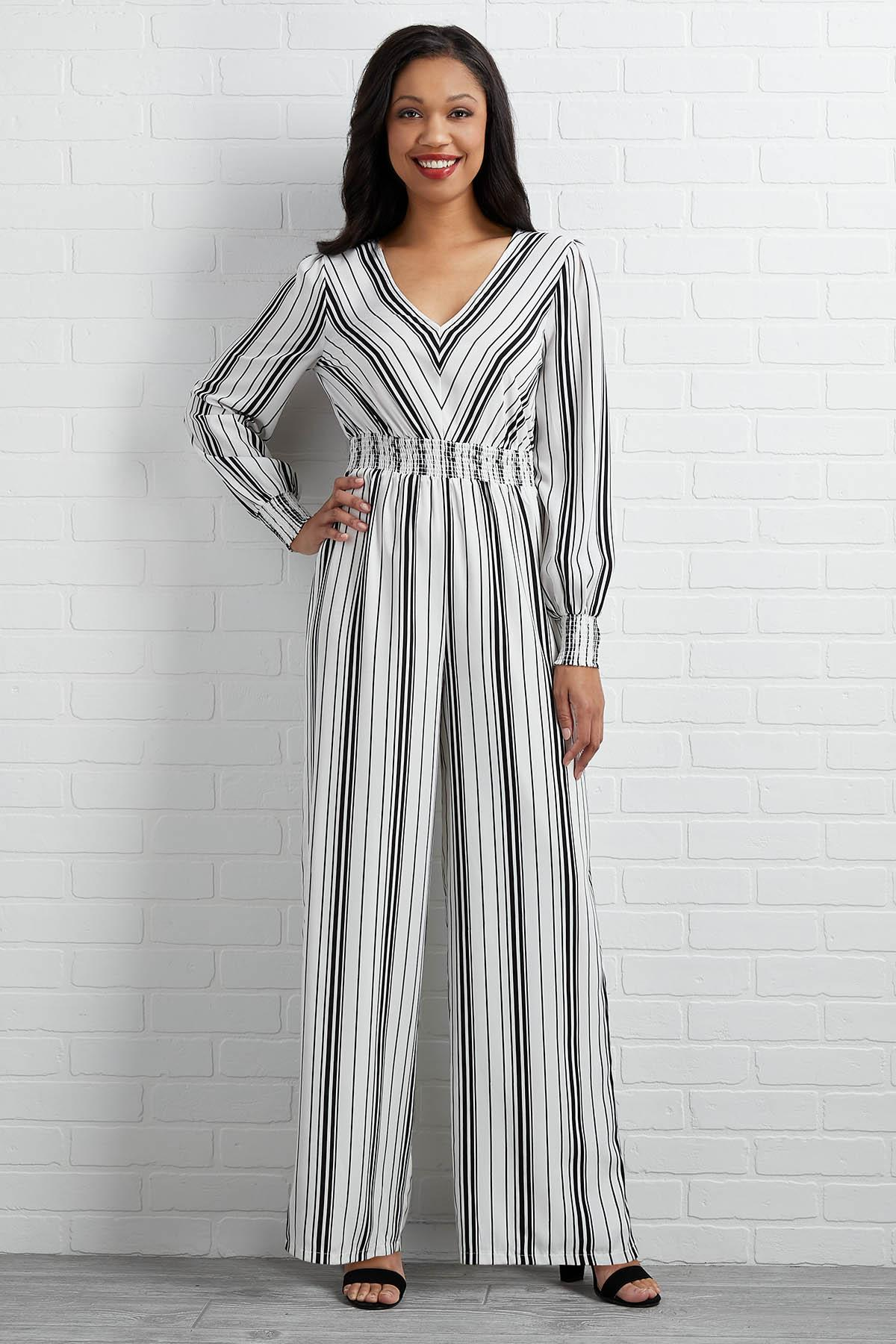 Blurred Lines Jumpsuit