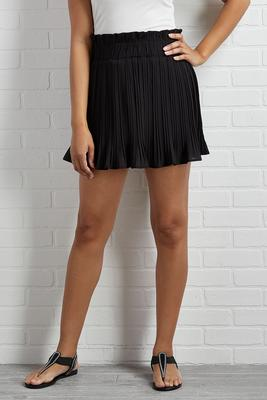 pleats behave skort
