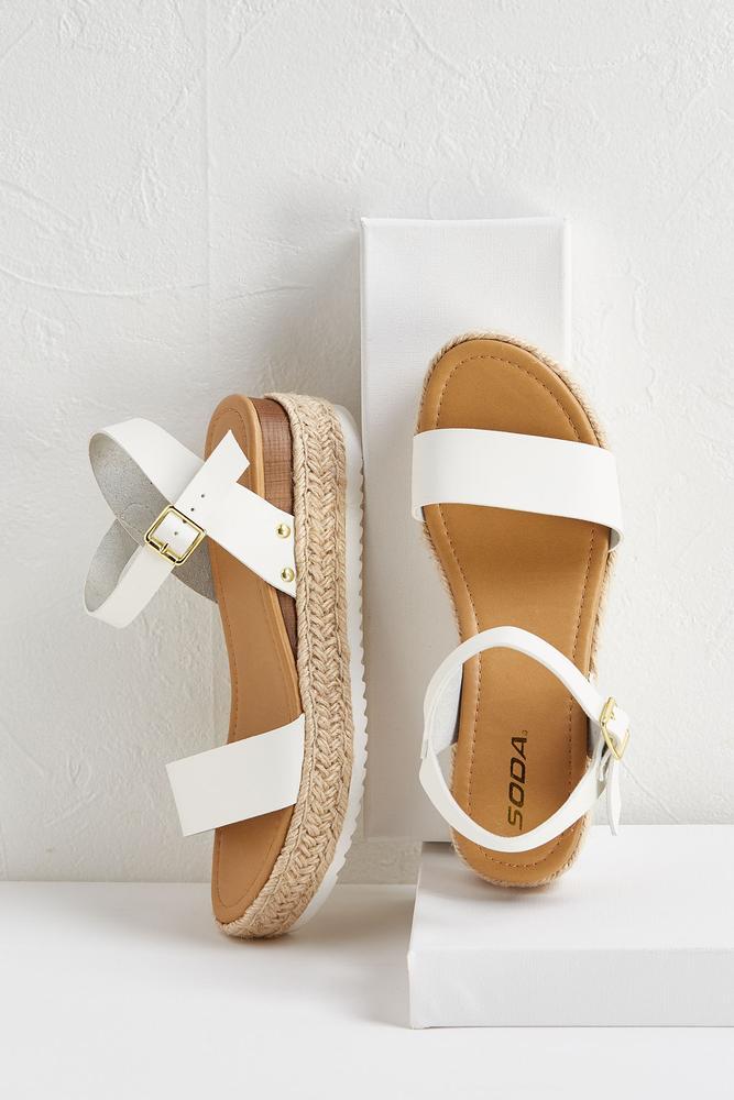 Ankle Strap Flatforms