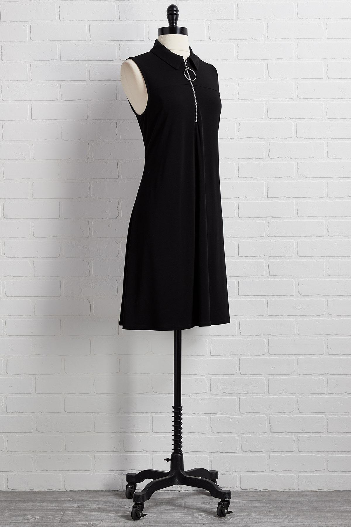 Our Zips Are Sealed Dress