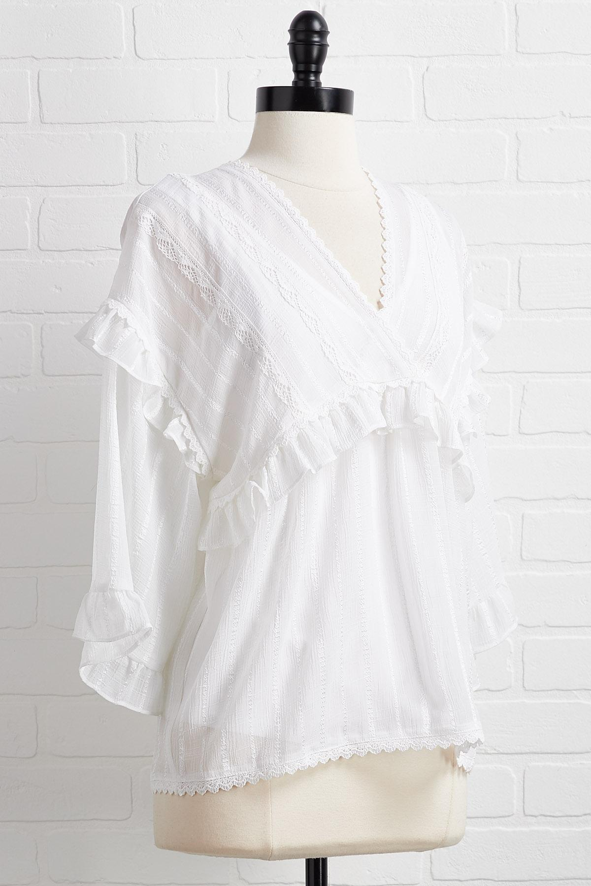 The Frill Of It Top