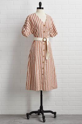 for the stripe reasons dress