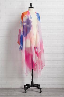 colors of the wind kimono