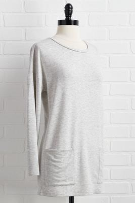 locker room tunic top