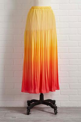 he`s just mai tai skirt
