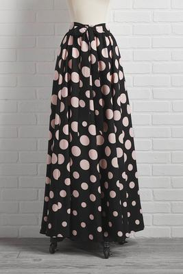 dot in the mood skirt