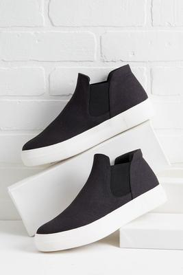 slip on high top sneaker