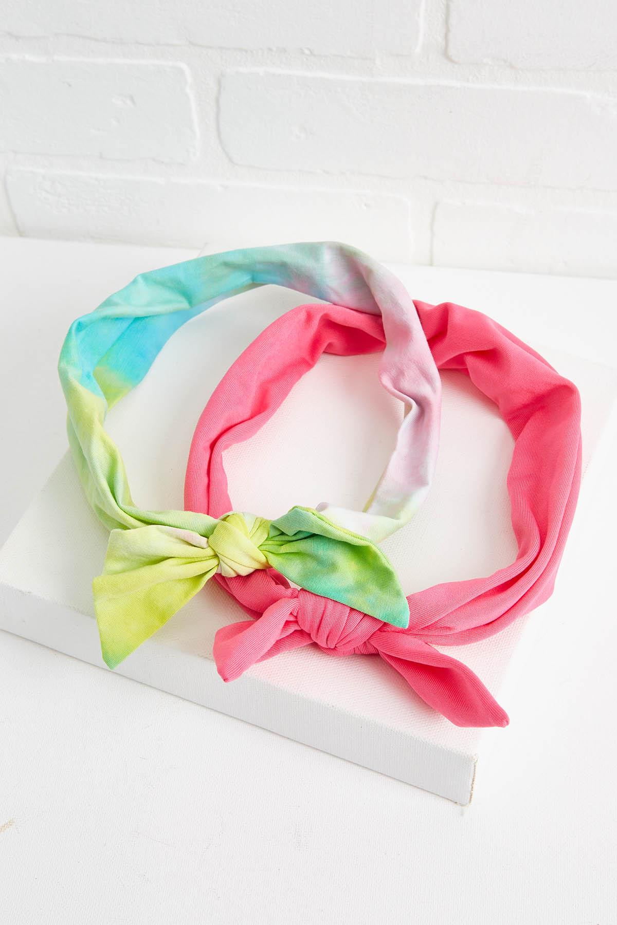 Tye Dye Bow Headwrap