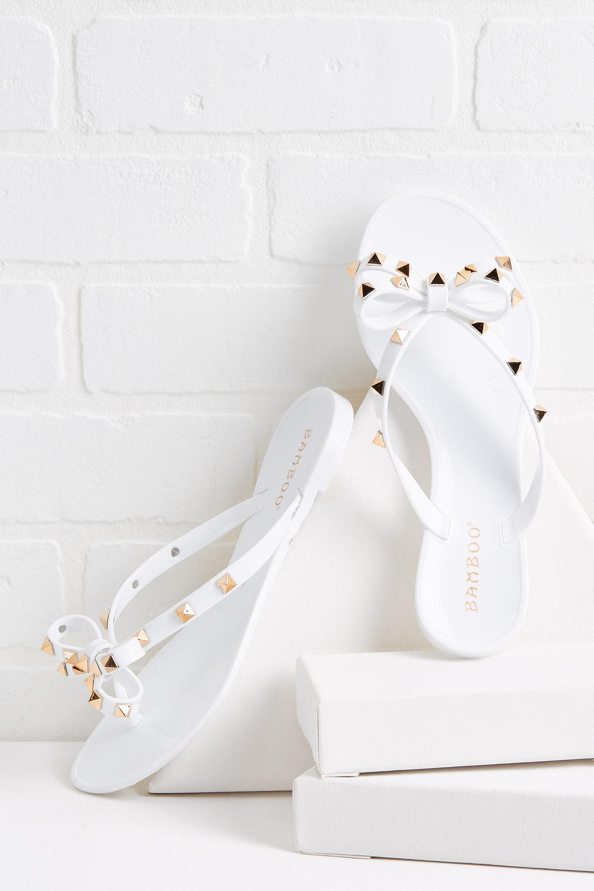 Tell Me About It Studded Sandals