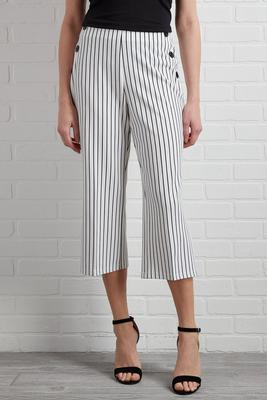 a modern classic cropped pants