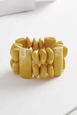 puzzle lucite bracelet