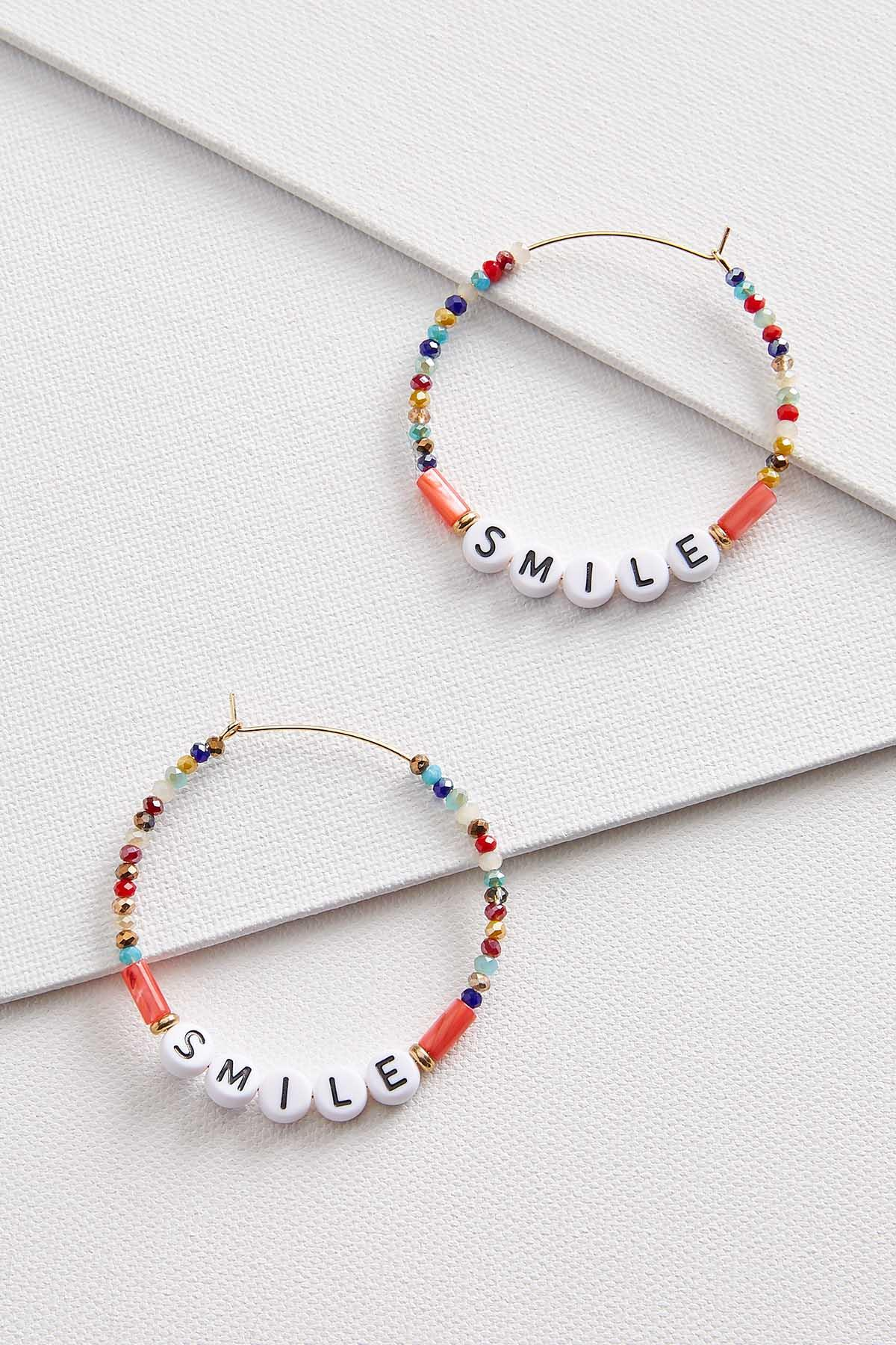 Smile Hoop Earrings