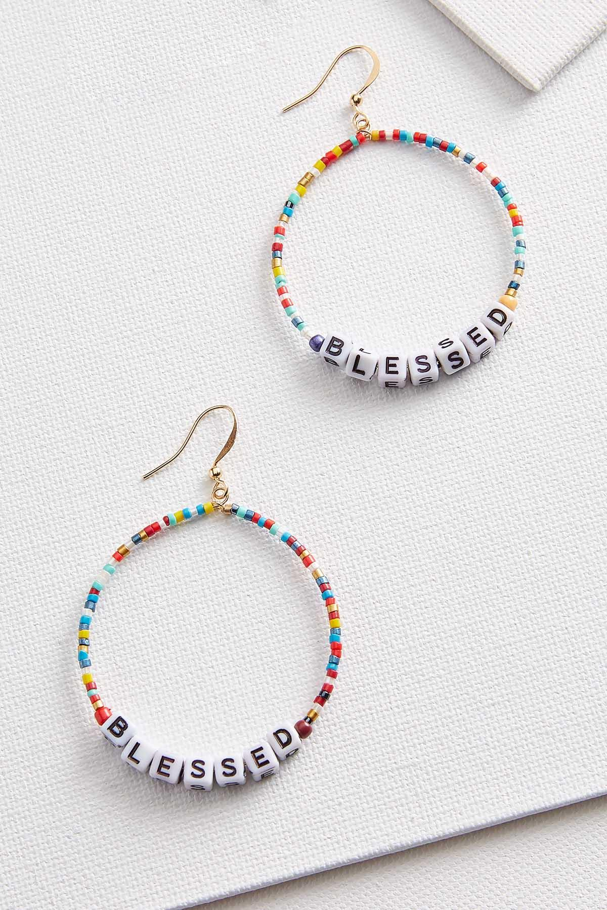 Blessed Bead Earrings