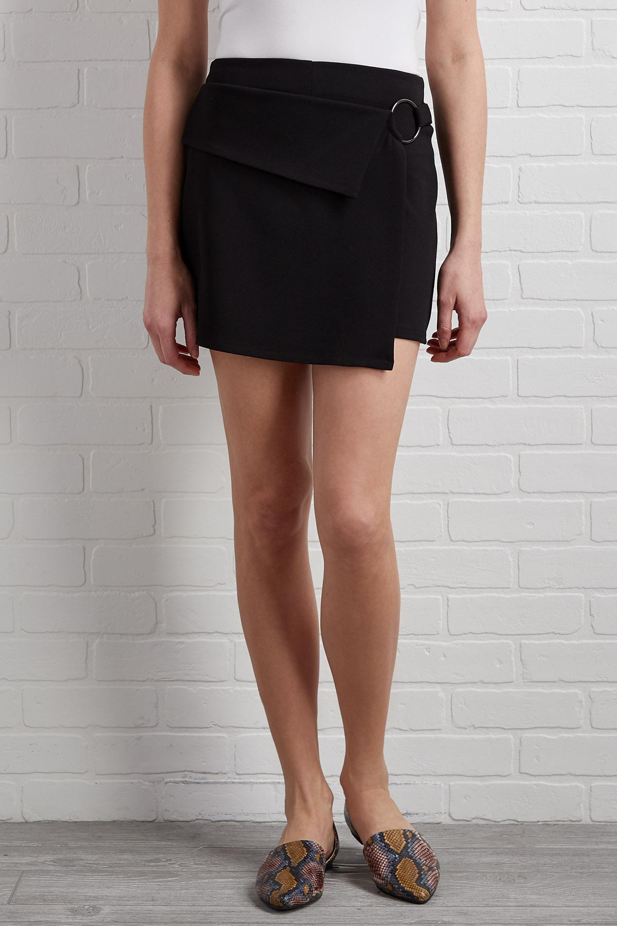 Business In The Front Skort