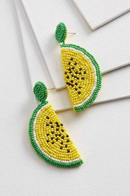 one in a melon earrings