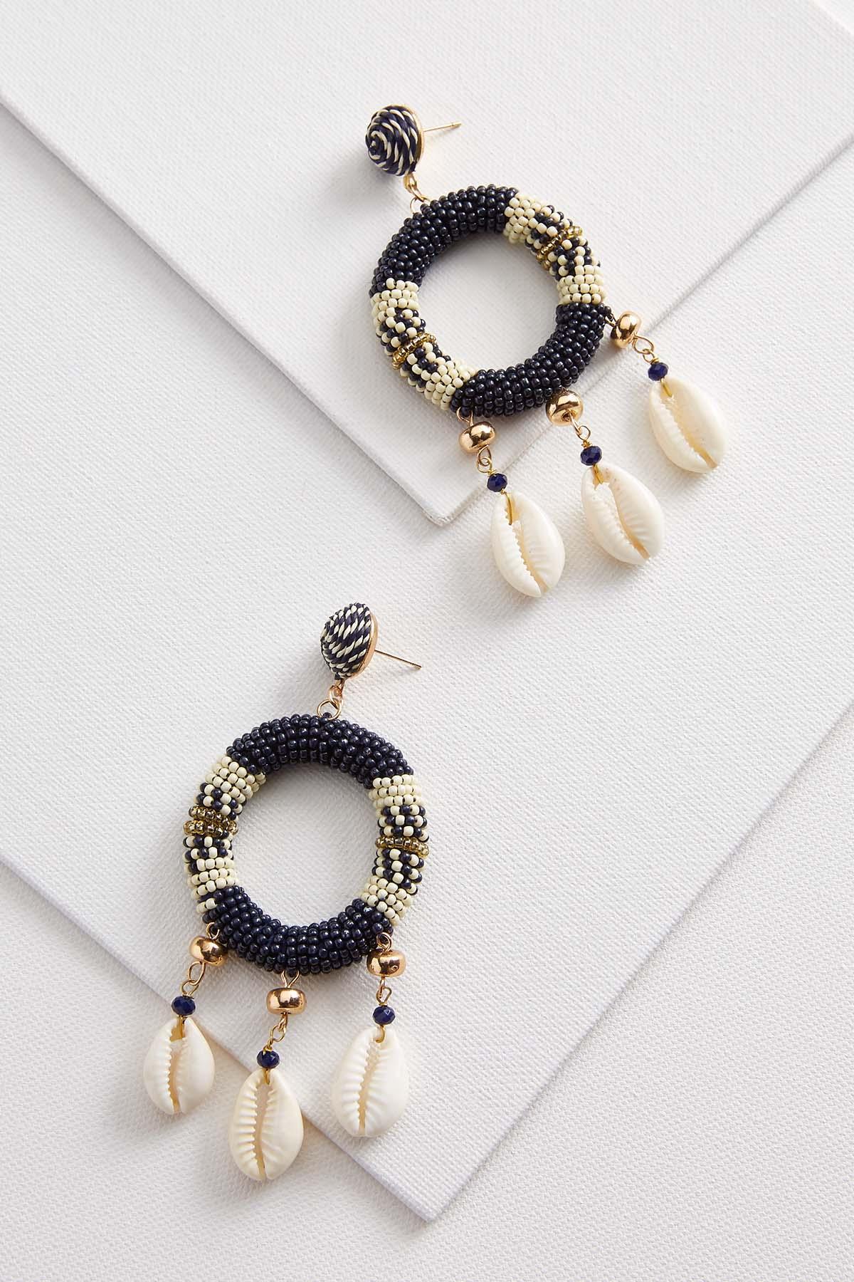 Shell Dreamcatcher Earrings