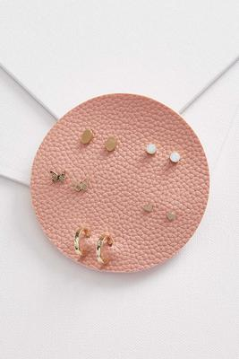 spring stud earring set