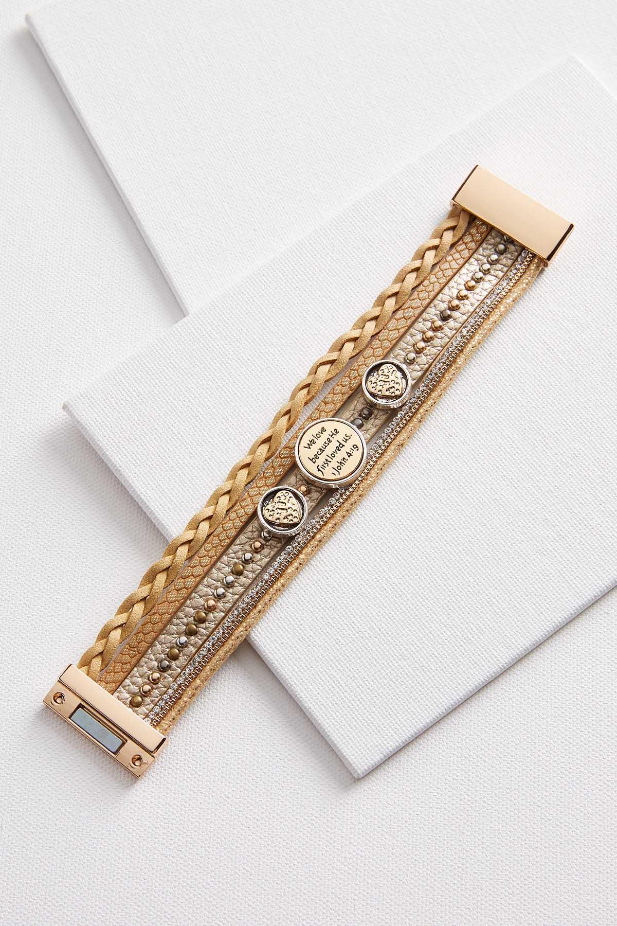 We Love Magnetic Charm Bracelet