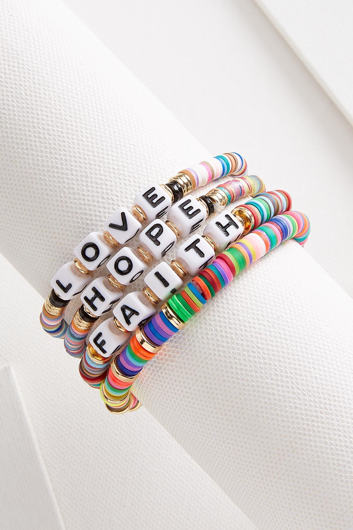 Beaded Inspiration Bracelet Set