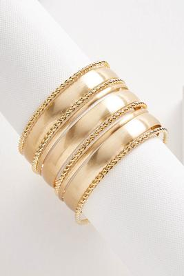 stacked bangle set