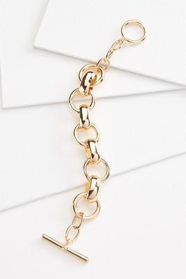 metal link bracelet