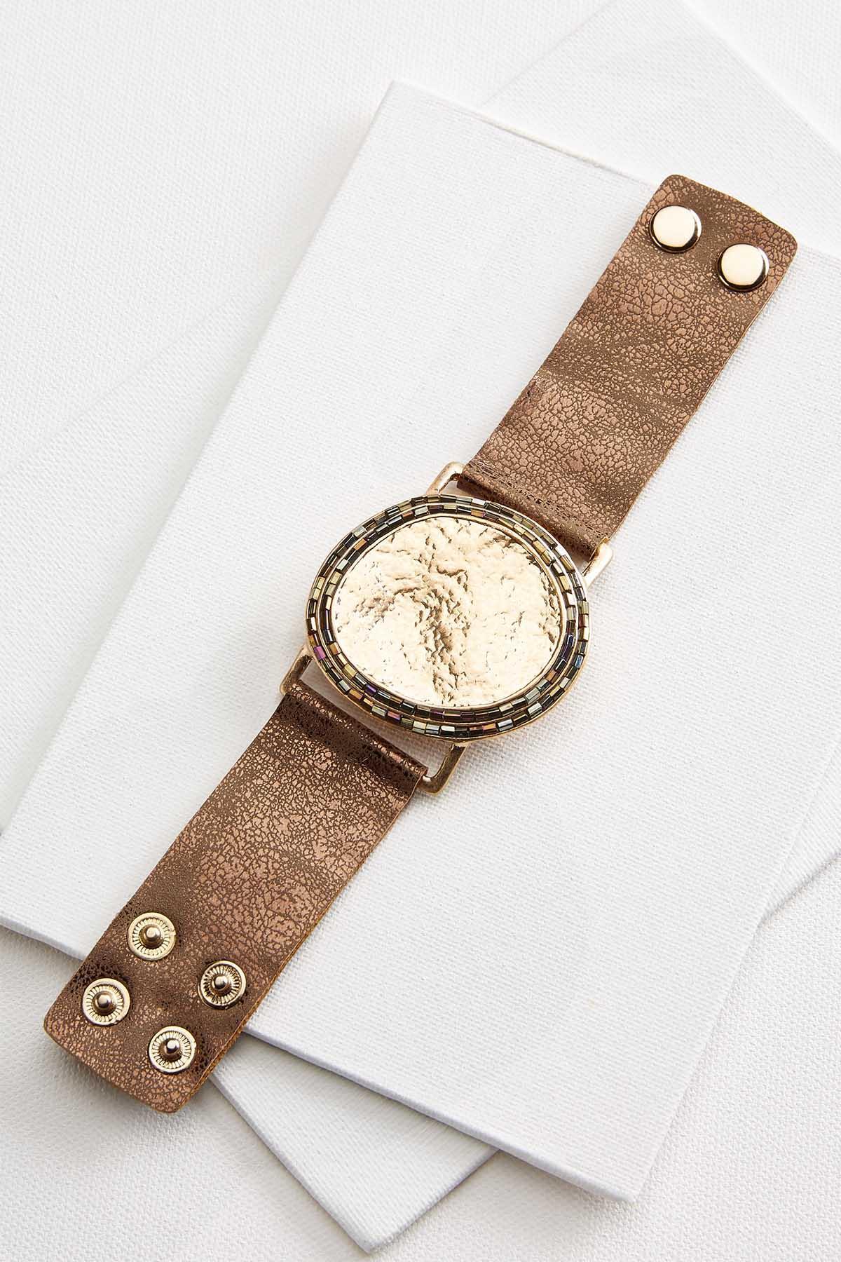 Medallion Snap Bracelet