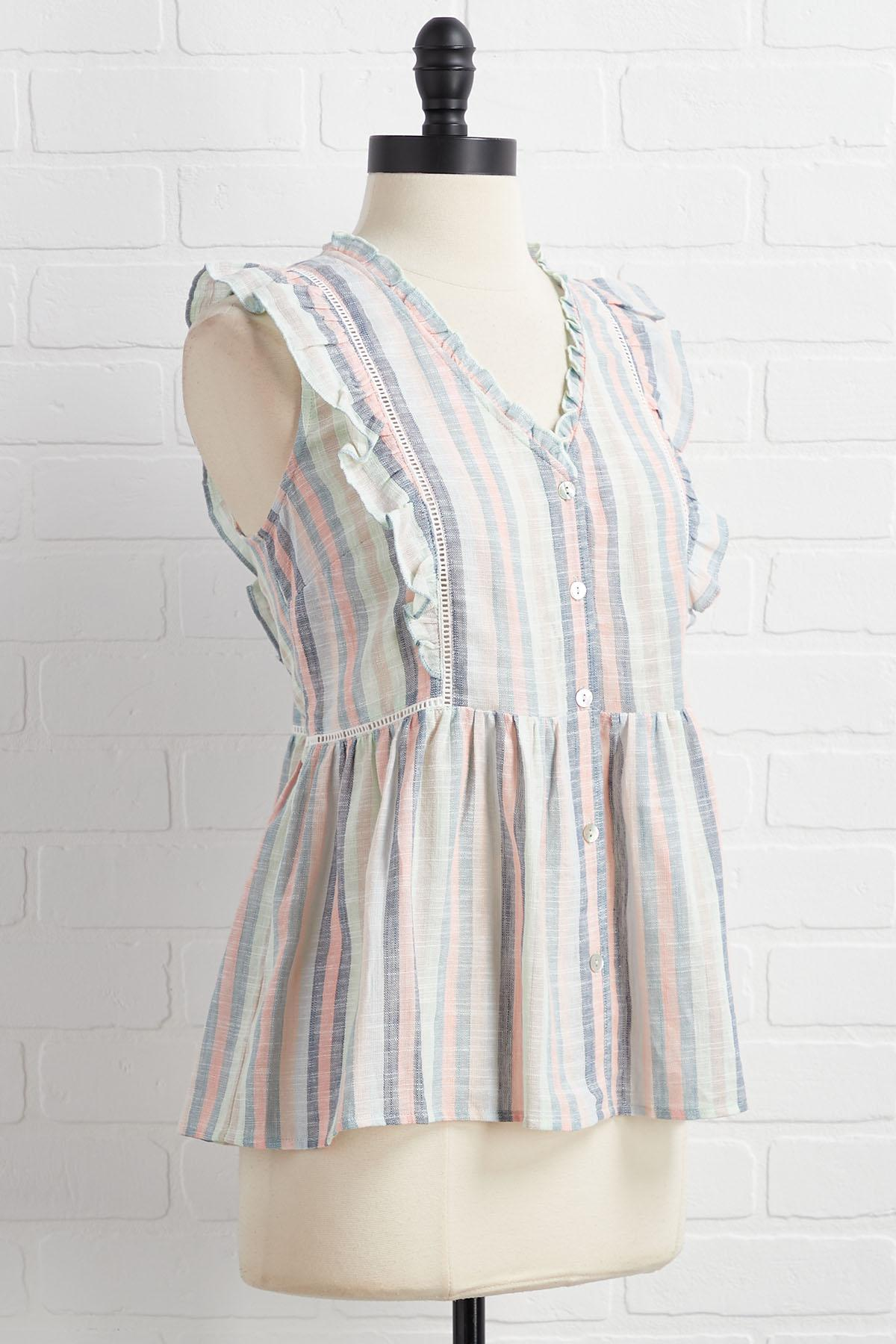 Fading Into Spring Top