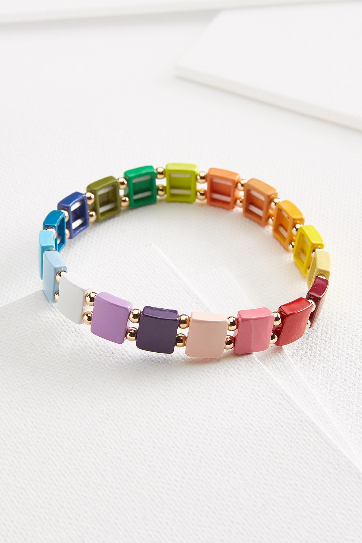 Rainbow Stretch Bracelet