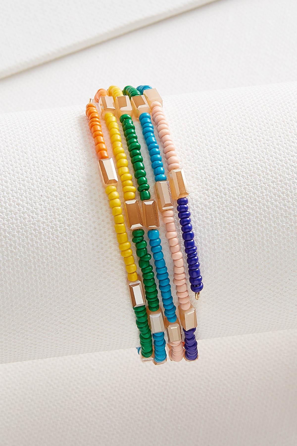 Colorful Coil Bracelet