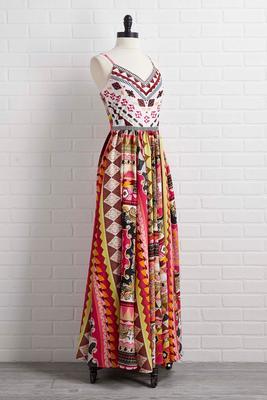 puerta maya dress