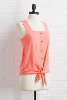 coral crush top
