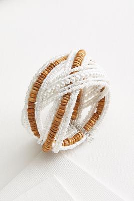 boho pearl bracelet