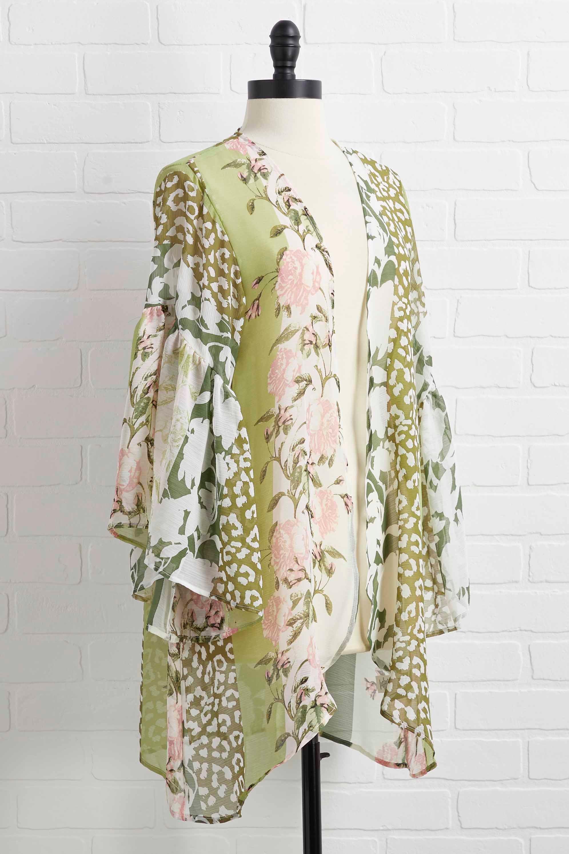 Wild Flower Kimono