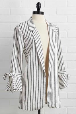 fine line blazer