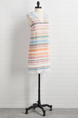 hilton head stripe dress