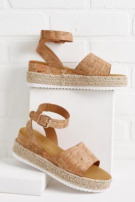 plans fell flatform sandals