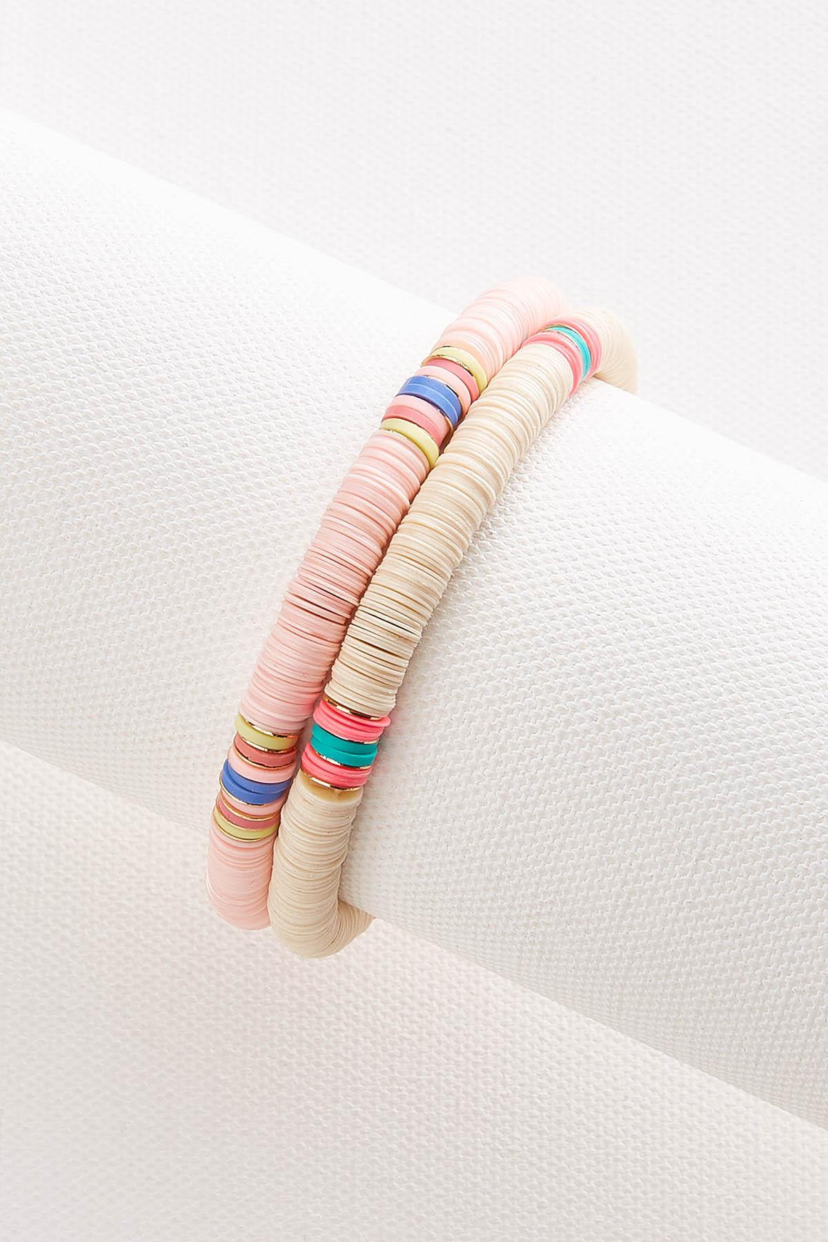 Sequin Stretch Bracelet Set