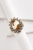 Blingy Oval Ring