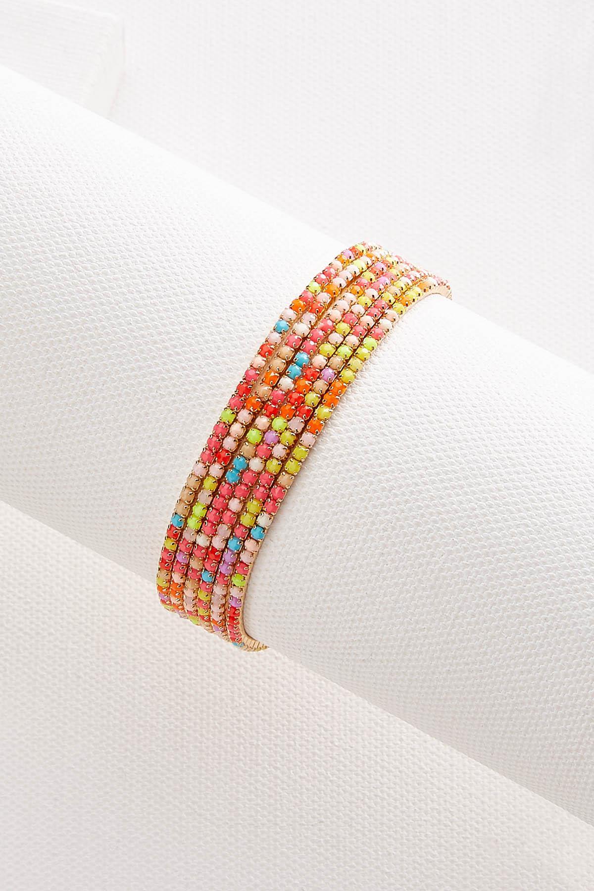 Rainbow Bracelet Set