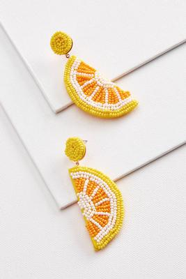 life hands you lemon earrings