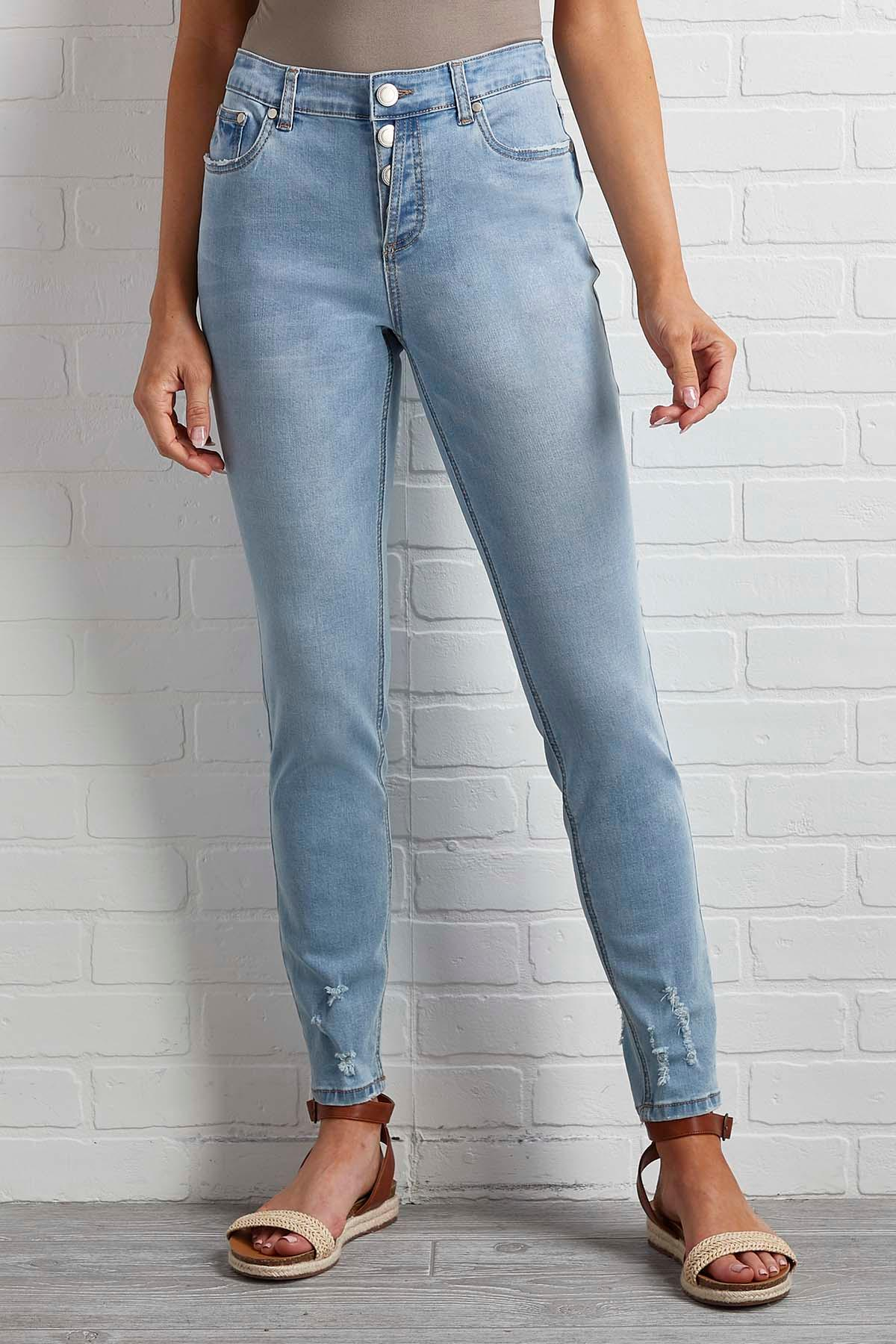 State Of Distressed Skinny Jeans