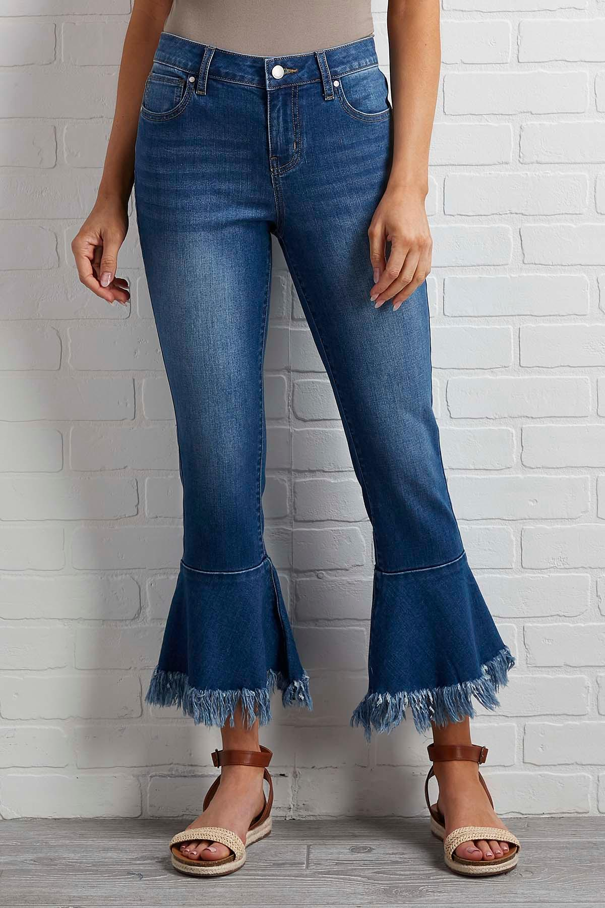 Not Much To Fray Jeans