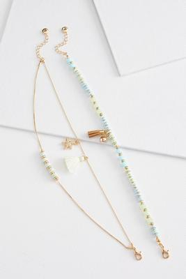 seaside anklet set