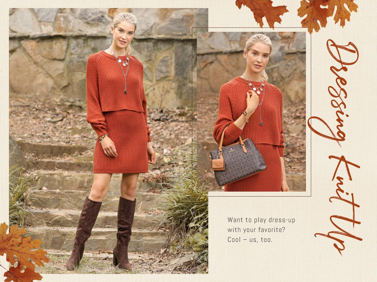 Dressing Knit Up collection