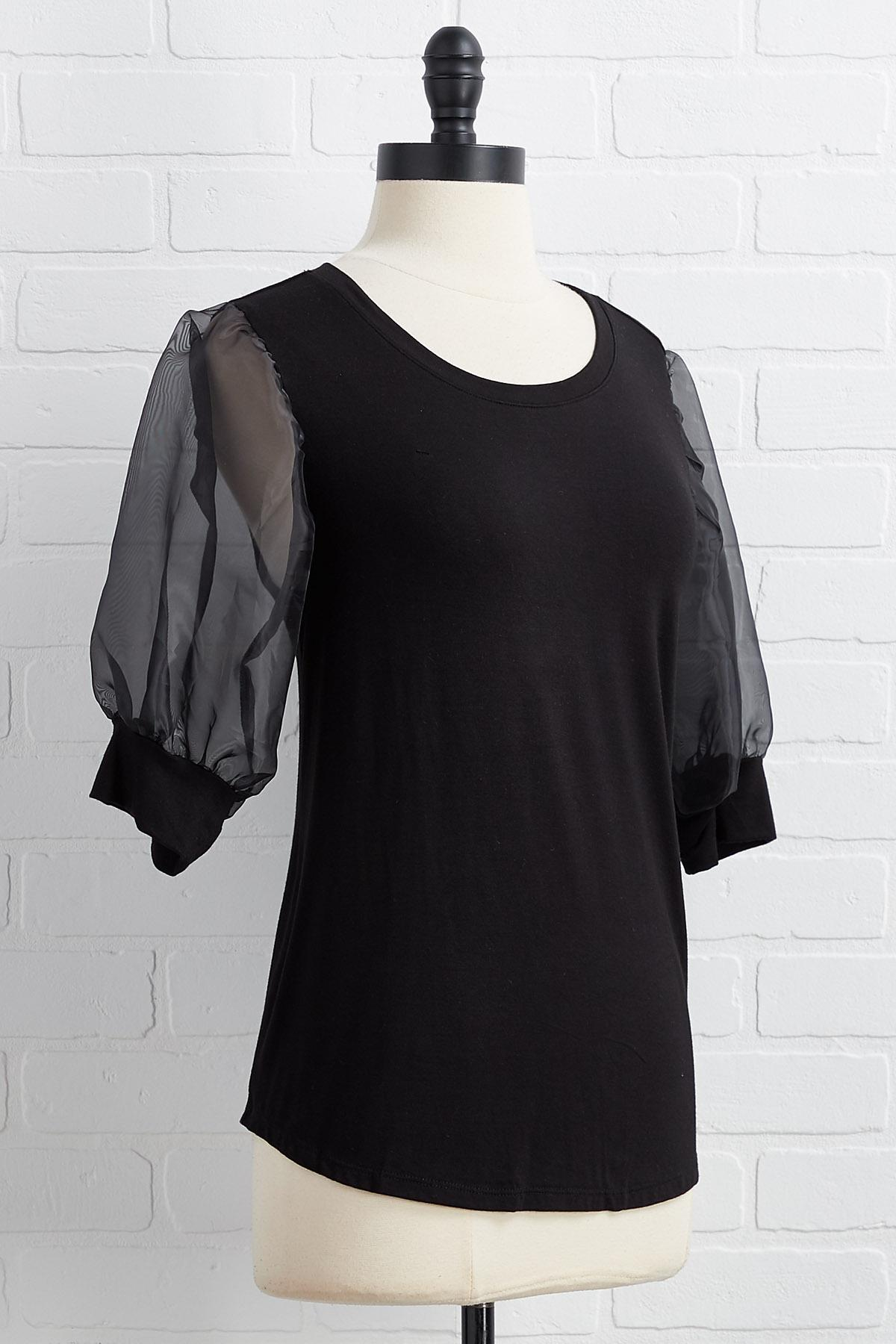 Sheer And Now Top