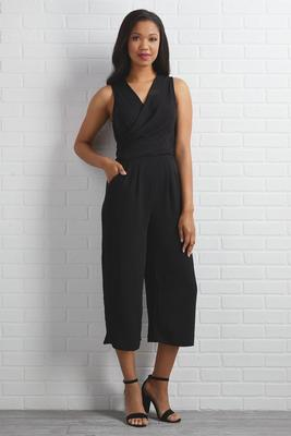 wrap up the conversation jumpsuit